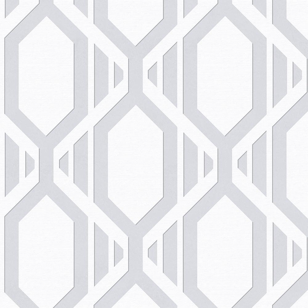 Norwall Daisy Damask Wallpaper SH34519