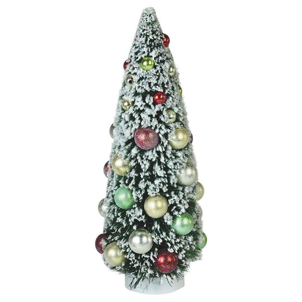 Northlight 12 In Frosted Green Sisal Pine Artificial Christmas Table Top Tree