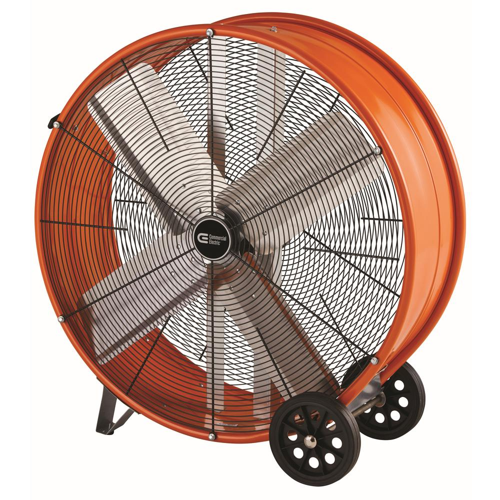 Home Depot Fans: Commercial Electric 16 In. Direct Drive Turbo Fan-HVFF16CE