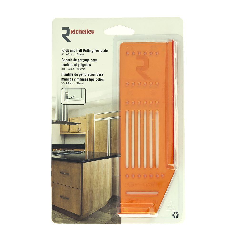 Cabinet Hardware Door Template