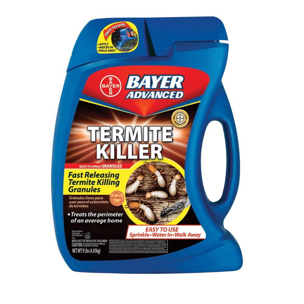 Bayer advanced 9 lb ready to use termite killer 700350 the home depot ready to use termite killer solutioingenieria Image collections