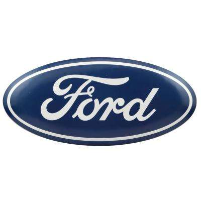 Ford Oval Tin Button Decorative Sign