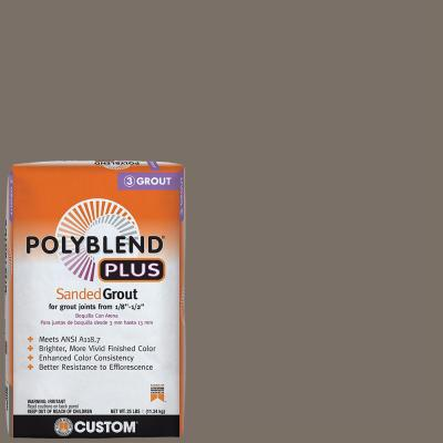 Polyblend Plus #185 New Taupe 25 lb. Sanded Grout