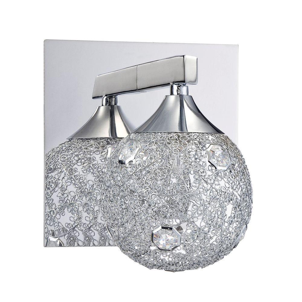 Designers Choice Collection SOLARO Series Chrome Bath Light