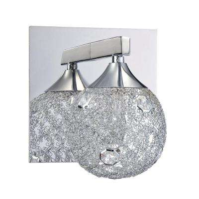 SOLARO Series Chrome Bath Light