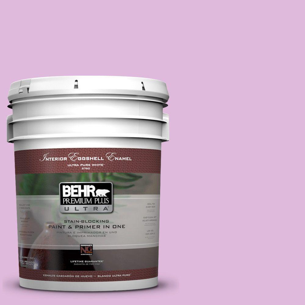 BEHR Premium Plus Ultra 5-gal. #670A-3 Posies Eggshell Enamel Interior Paint