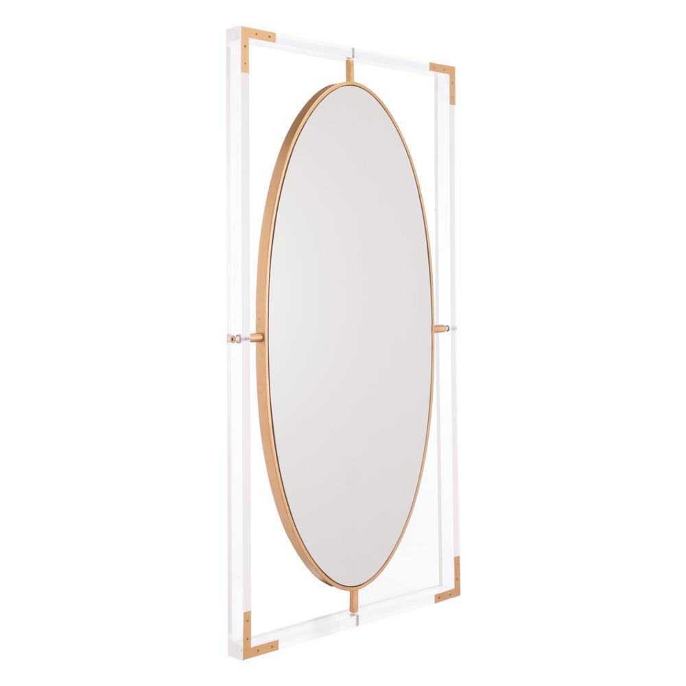 Lucite Rectangular Wall Mirror