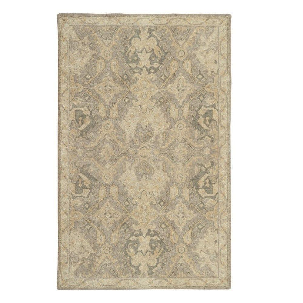 Home decorators collection chatsworth grey 2ft 3 in x 10 for Home decorators rug runners