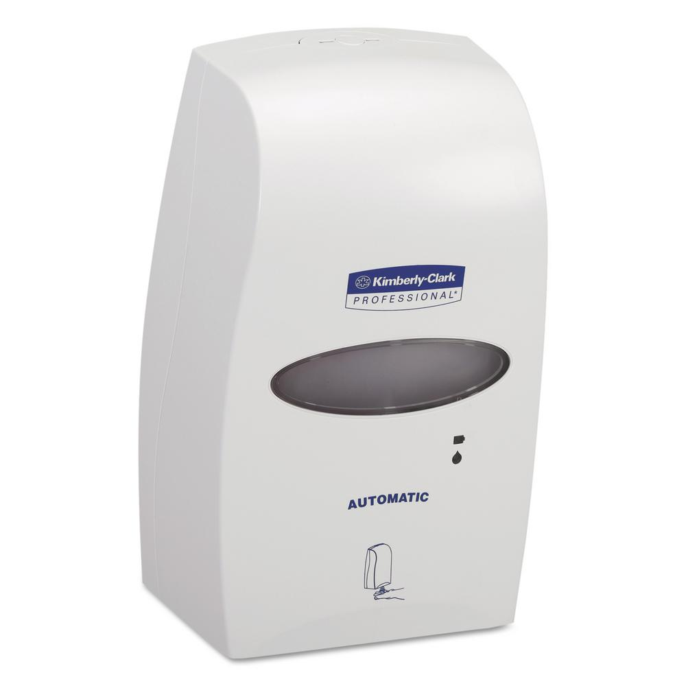 Kimberly Clark 1200 ml White Electronic Cassette Skin Care Dispenser