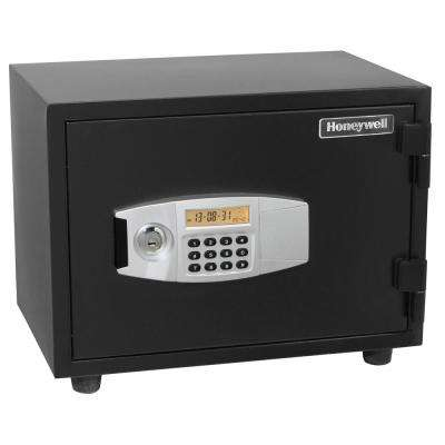 0.55 cu. ft. Fire Resistant Safe with Dual Digital and Key Lock Security