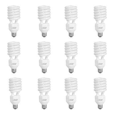 150-Watt Equivalent Daylight A21 Spiral CFL Light Bulb (12-Pack)