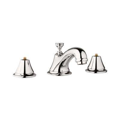 Seabury 8 in. Widespread 2-Handle 1.2 GPM Bathroom Faucet in Polished Nickel Infinity