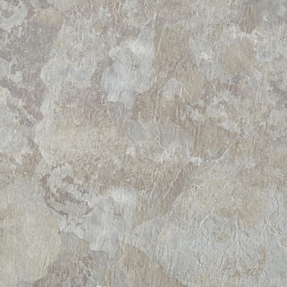 Achim Majestic Light Gray Slate 18 In X 18 In Vinyl