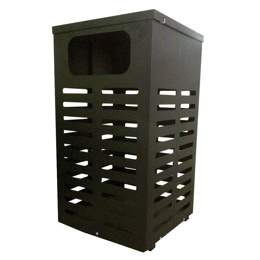 Lasting Impressions 34 Gal. Trash and Litter Receptacle
