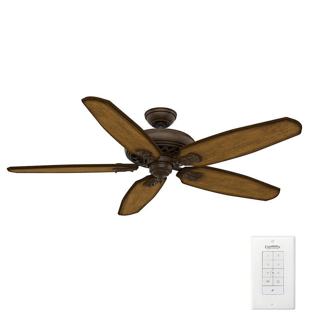 Casablanca fellini 60 in indoor provence crackle bronze ceiling casablanca fellini 60 in indoor provence crackle bronze ceiling fan with remote mozeypictures Images