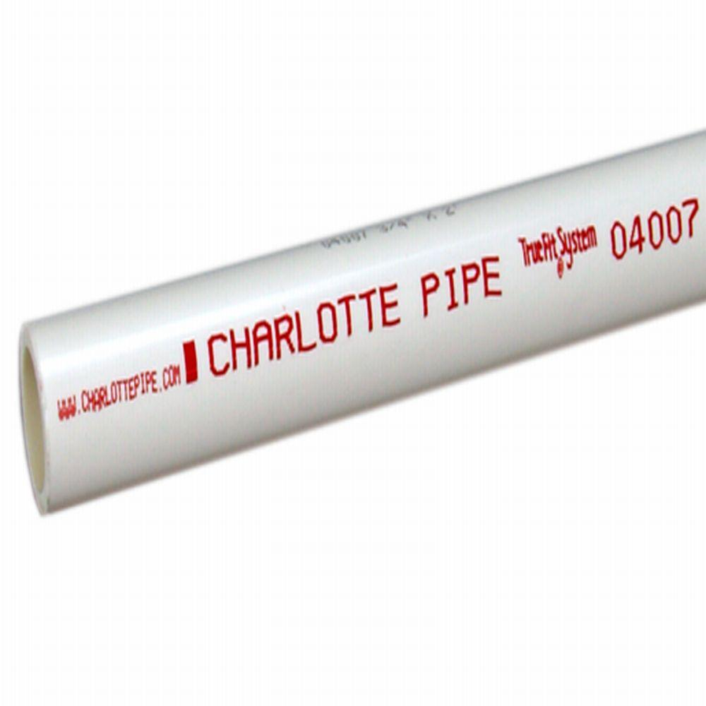 Charlotte Pipe 1-1/4 in. x 2 ft. PVC Sch. 40 Pipe