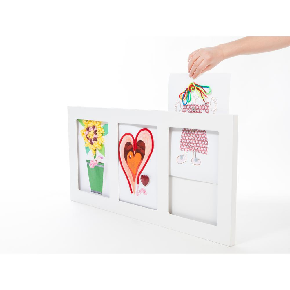 The Articulate Gallery Triple Gallery Picture Frame, 9 by 12-Inch ...
