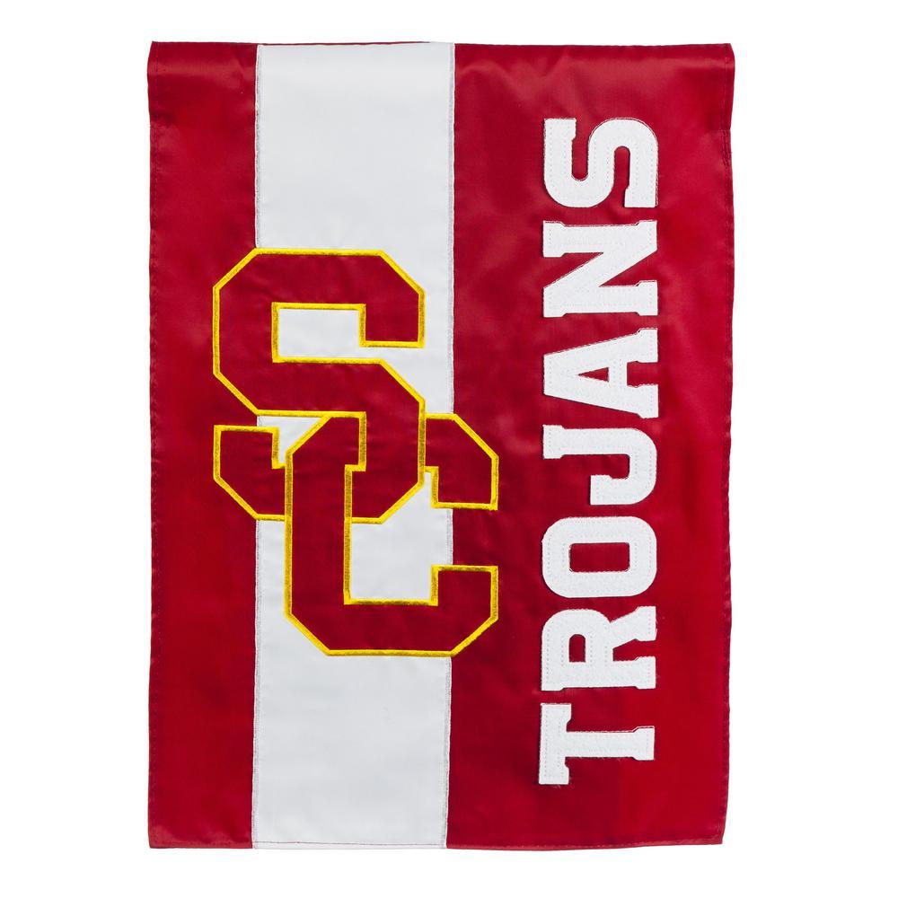 1 ft. x 1-1/2 ft. University of Southern California 2-Sided Garden Flag