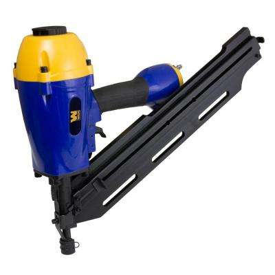 Pneumatic Clipped Head 34 Degree Framing Nailer