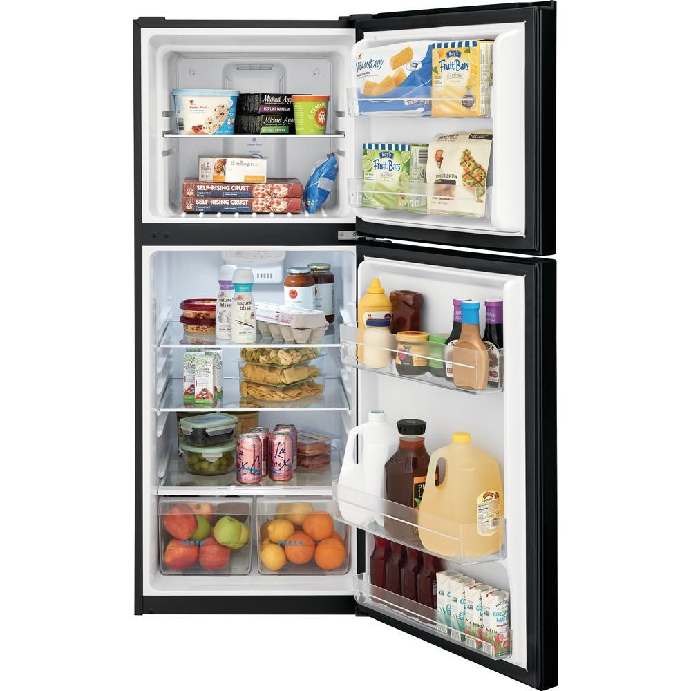 11.6 cu. ft. Top Freezer Refrigerator in Black, ENERGY STAR