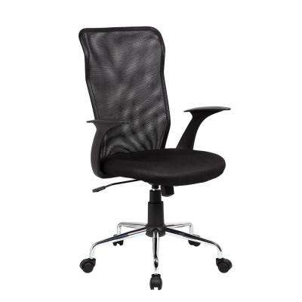 Black Medium Back Mesh Assistant Office Chair