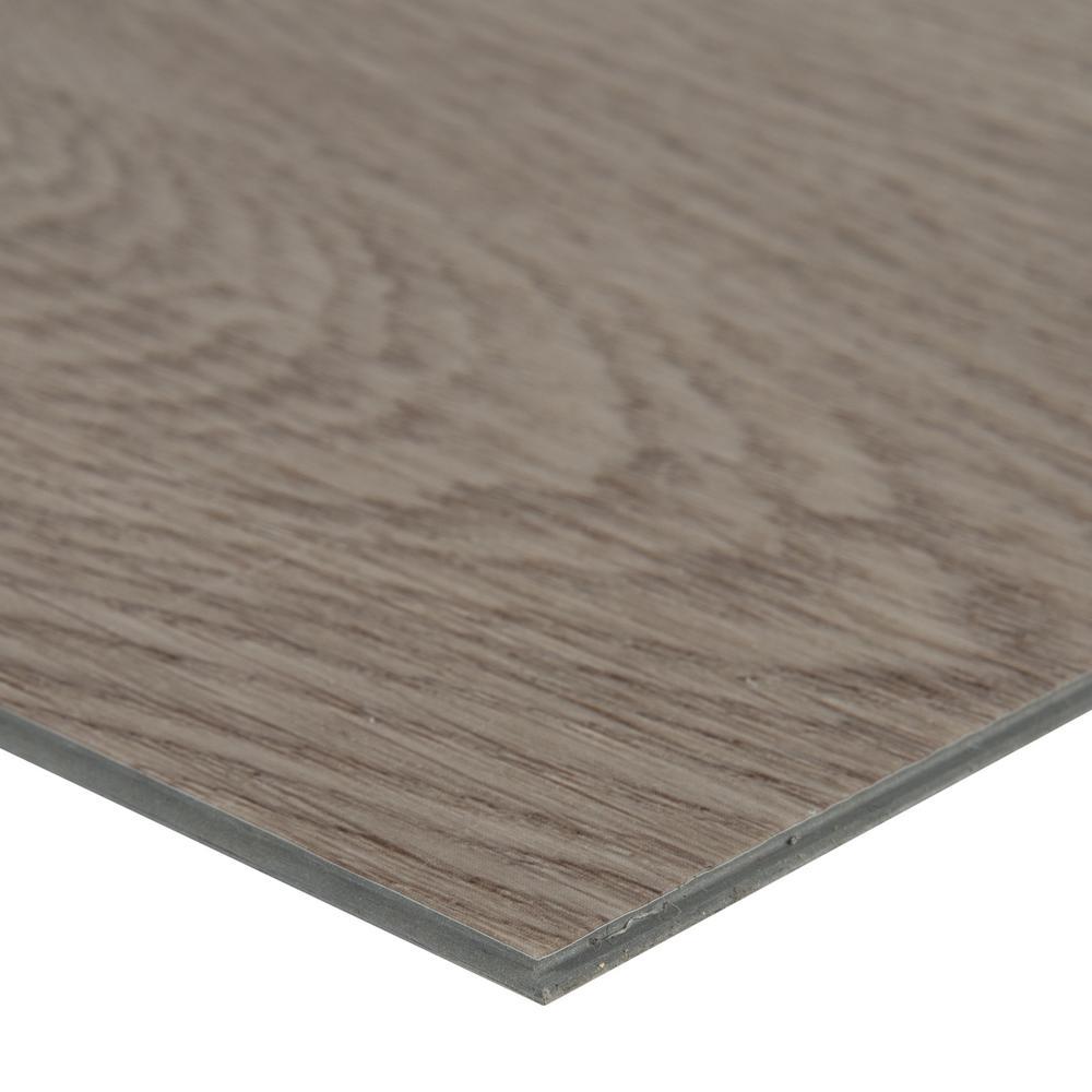 Pelican Gray 7 in. x 48 in. Rigid Core Rigid Core Luxury Vinyl Plank Flooring(55 cases / 1307.35 sq. ft. / pallet)
