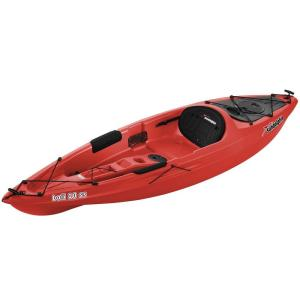 Sun Dolphin Bali 10 ft. Sit-On Kayak in Red by Sun Dolphin