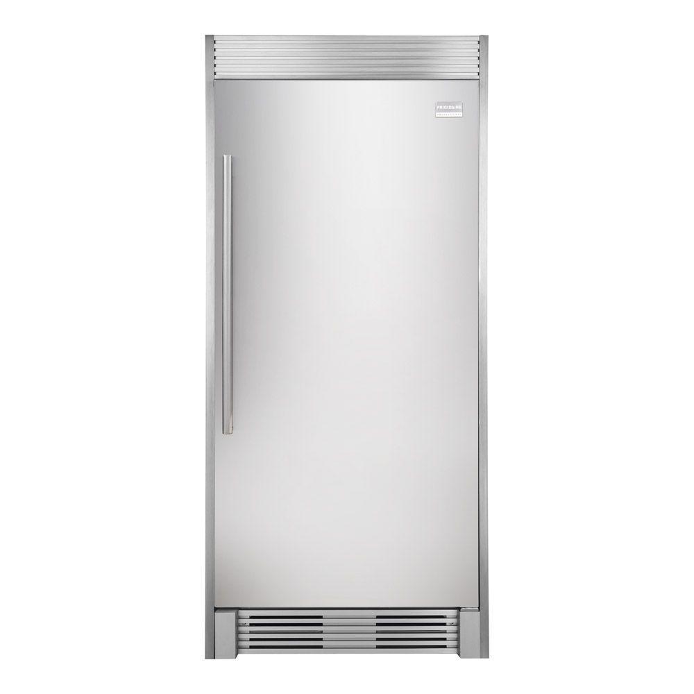 Frigidaire Professional 32 in. W 19 cu. ft. Freezerless Refrigerator in Stainless Steel, Counter Depth