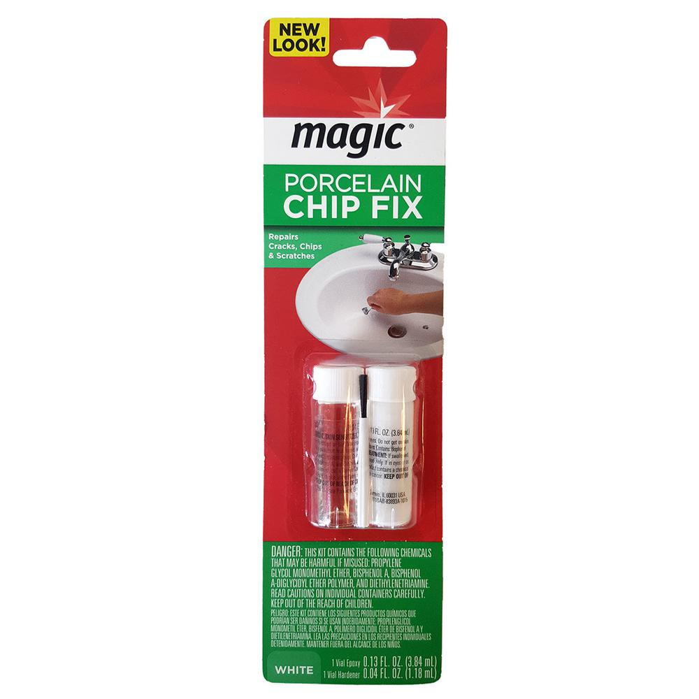Magic Porcelain Chip Fix Repair for Tubs and Sink-3007 - The Home ...