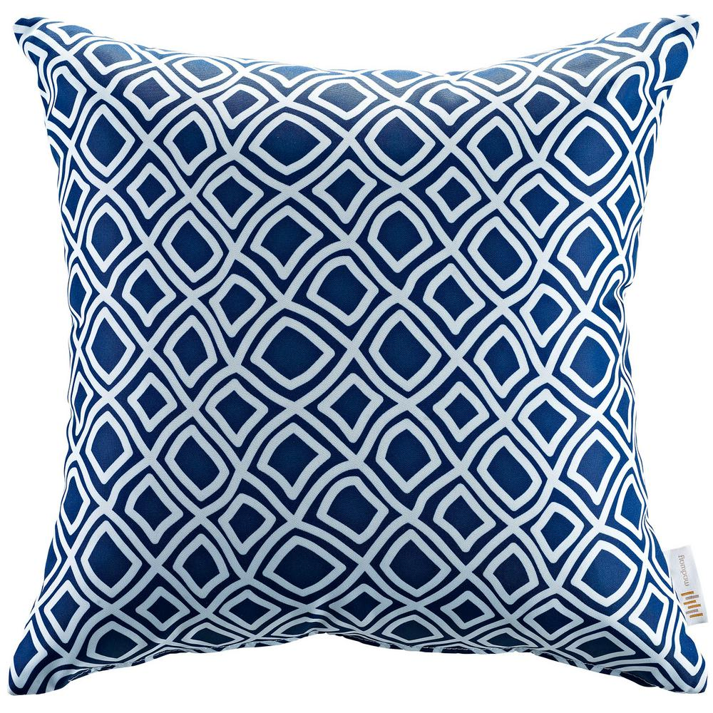 Square Outdoor Throw Pillow in Balance