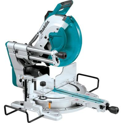 15 Amp 12 in. Dual-Bevel Sliding Compound Miter Saw with Laser