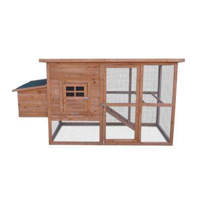 Chicken Coop with 2 Roosting Bars