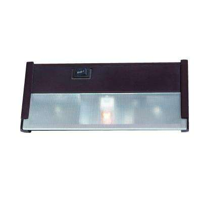 1-Light 8 in. Bronze Xenon Under Cabinet Light