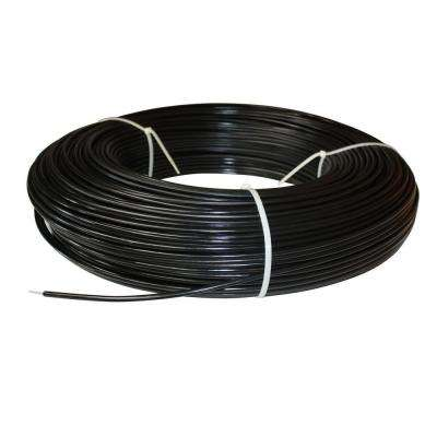 1320 ft. 12.5-Gauge Black Safety Coated High Tensile Electric Fence Wire