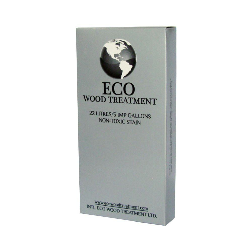Intl Eco Wood Treatment 5 gal. Exterior/Interior Wood Stain and Preservative