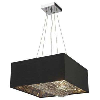Ritz 5-Light Silver Pendant