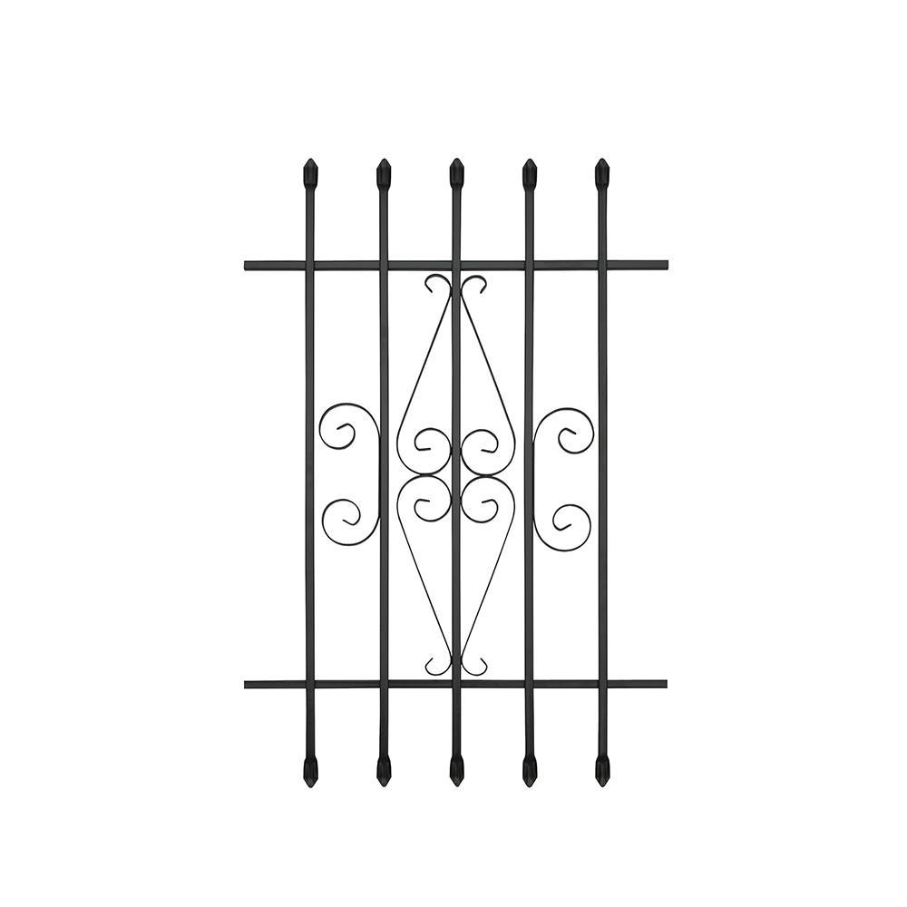 24 in. x 36 in. Spear Point Window Bar Guard