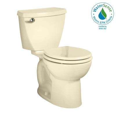 Cadet 3 Powerwash Tall Height 2-piece 1.28 GPF Single Flush Round Toilet in Bone