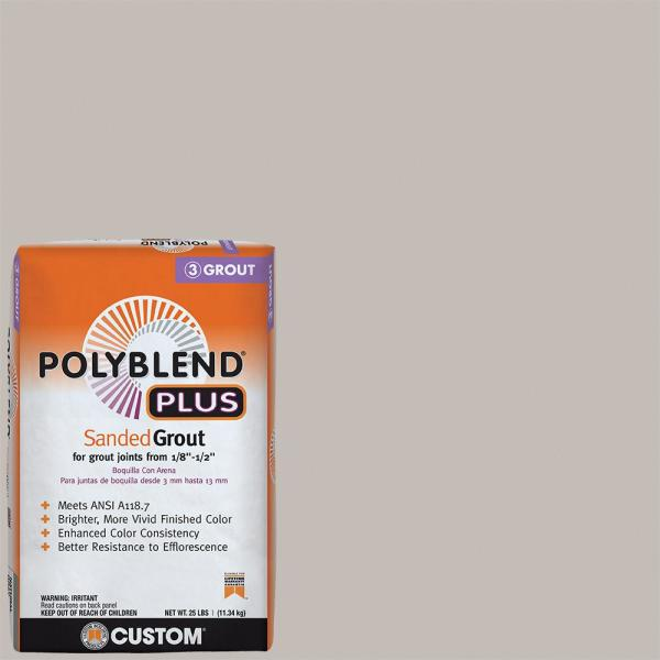 Polyblend Plus #643 Warm Gray 25 lb. Sanded Grout