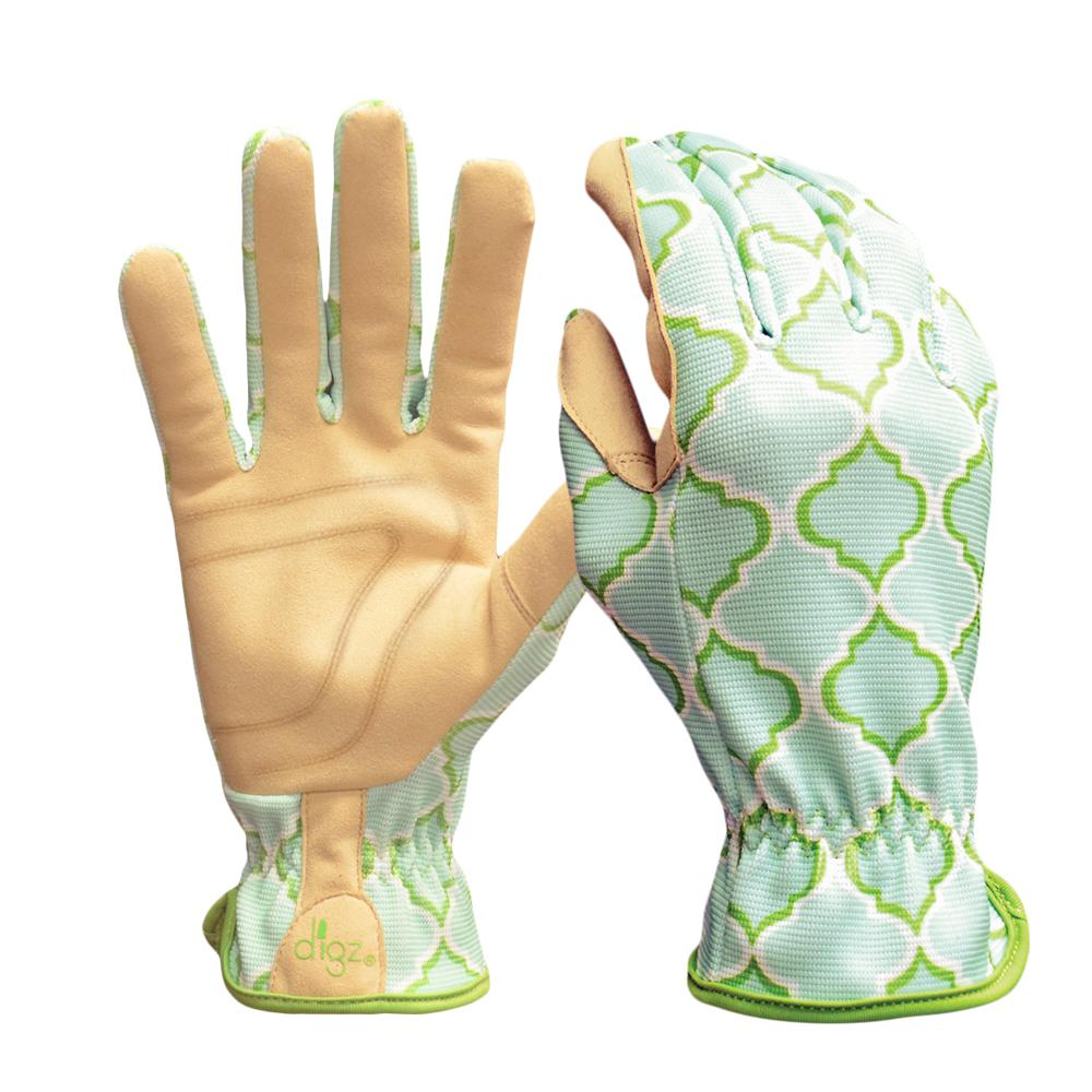 Planter Women's Small Multi-Colored Synthetic Leather Glove (2-Pack)