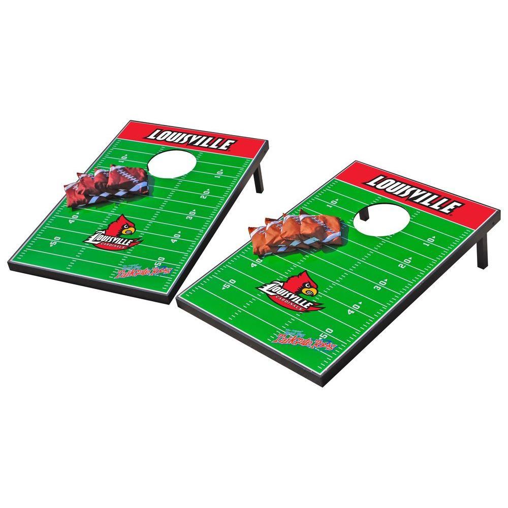 Wild Sports Louisville Cardinals Tailgate Cornhole Toss