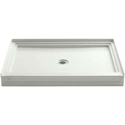 Tresham 48 in. x 36 in. Single Threshold Shower Base in Almond