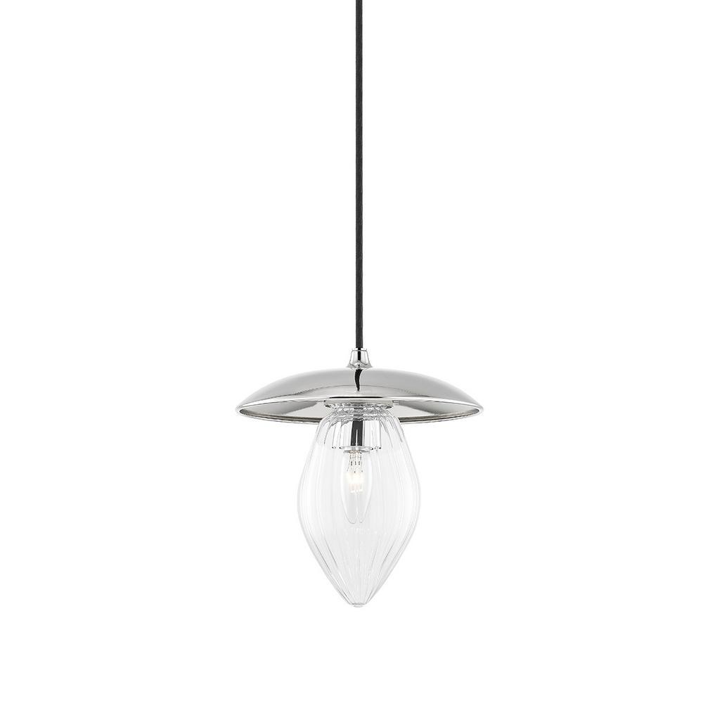 Lana 1-Light Polished Nickel Pendant