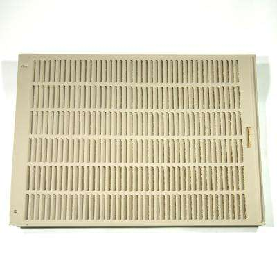 33-1/4 in. x 35-15/16 in. Louvered Side Assembly for 5000 DD/5000 SD/N55/65S and N56/66D