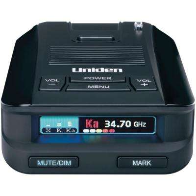 Super-Range Laser/Radar Detector with GPS