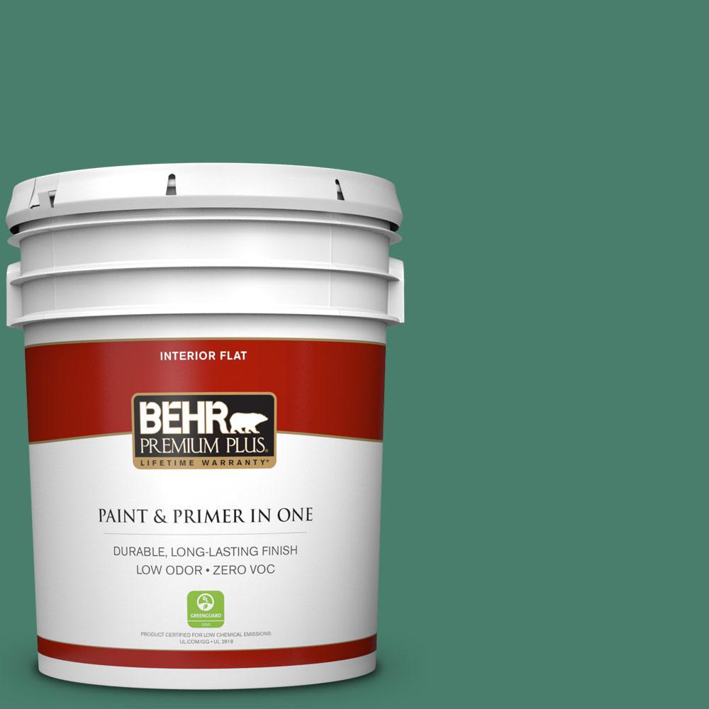 5 gal. #M430-6 Park Bench Zero VOC Flat Interior Paint