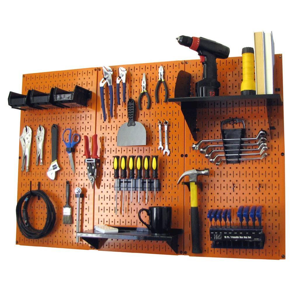 Стенка для инструментов своими руками