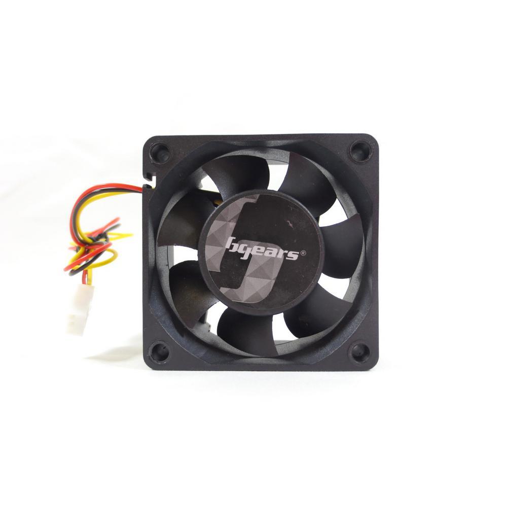 b-Blaster 60 mm 12-Volt DC Case Fan, Black