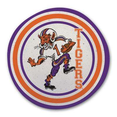 Clemson Multicolor Melamine Dinner Plate (Set of 6)