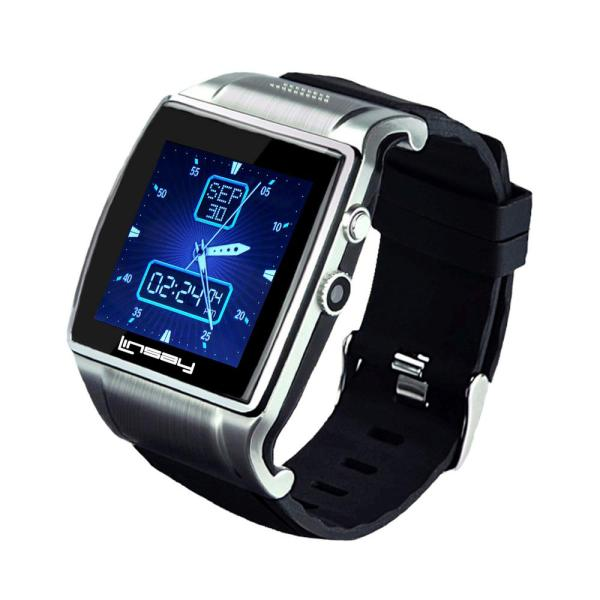 "Linsay Executive Smartwatch 1.5"" - Silver/Black"